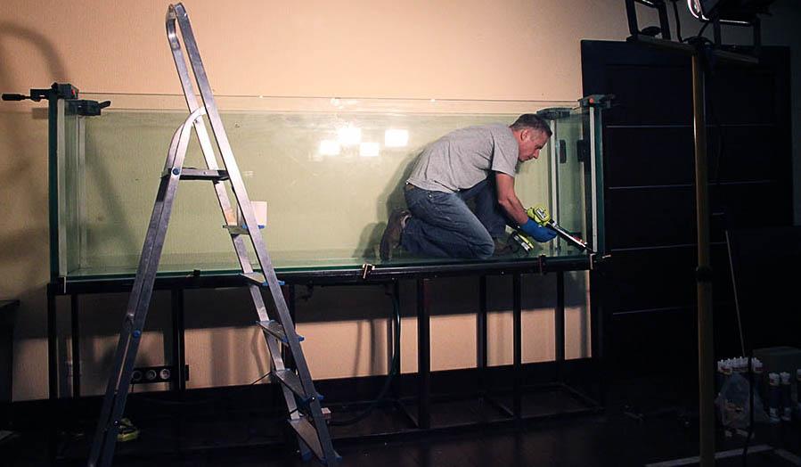 Изготовление и сборка аквариумов